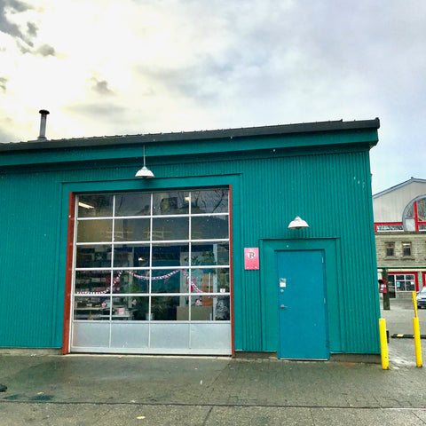 Our new home on granville island