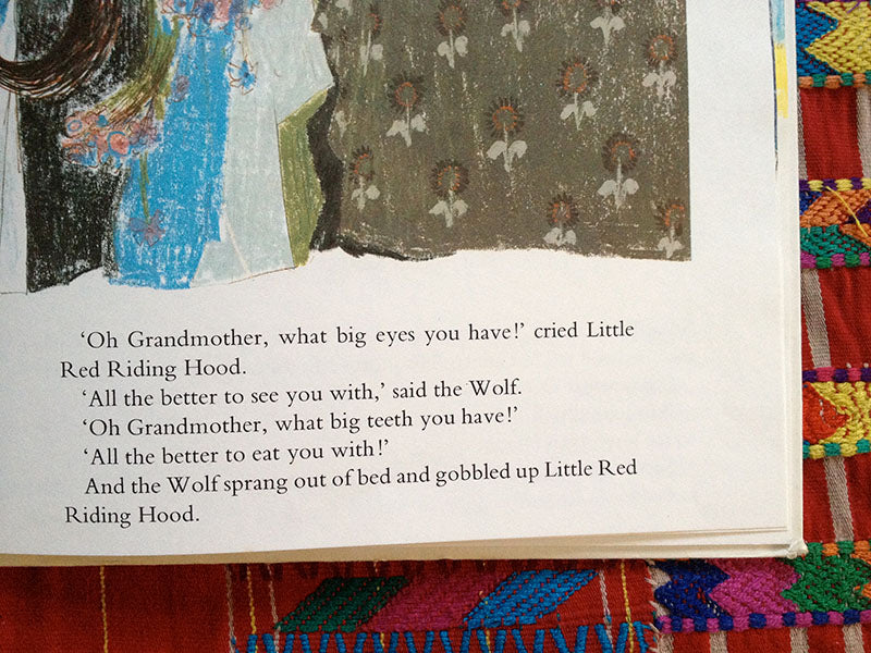 bernadette watts' little red riding hood