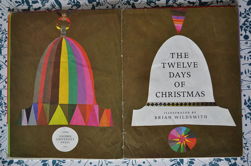 brian wildsmith's the twelve days of christmas