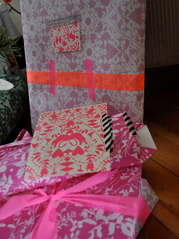one more thought on gift wrap