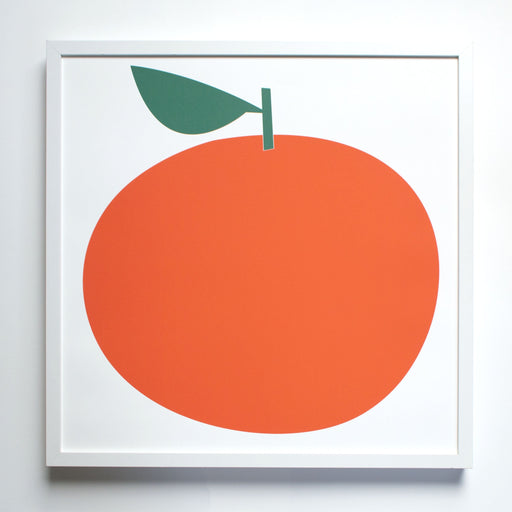 Clementine Citrus Screen Print