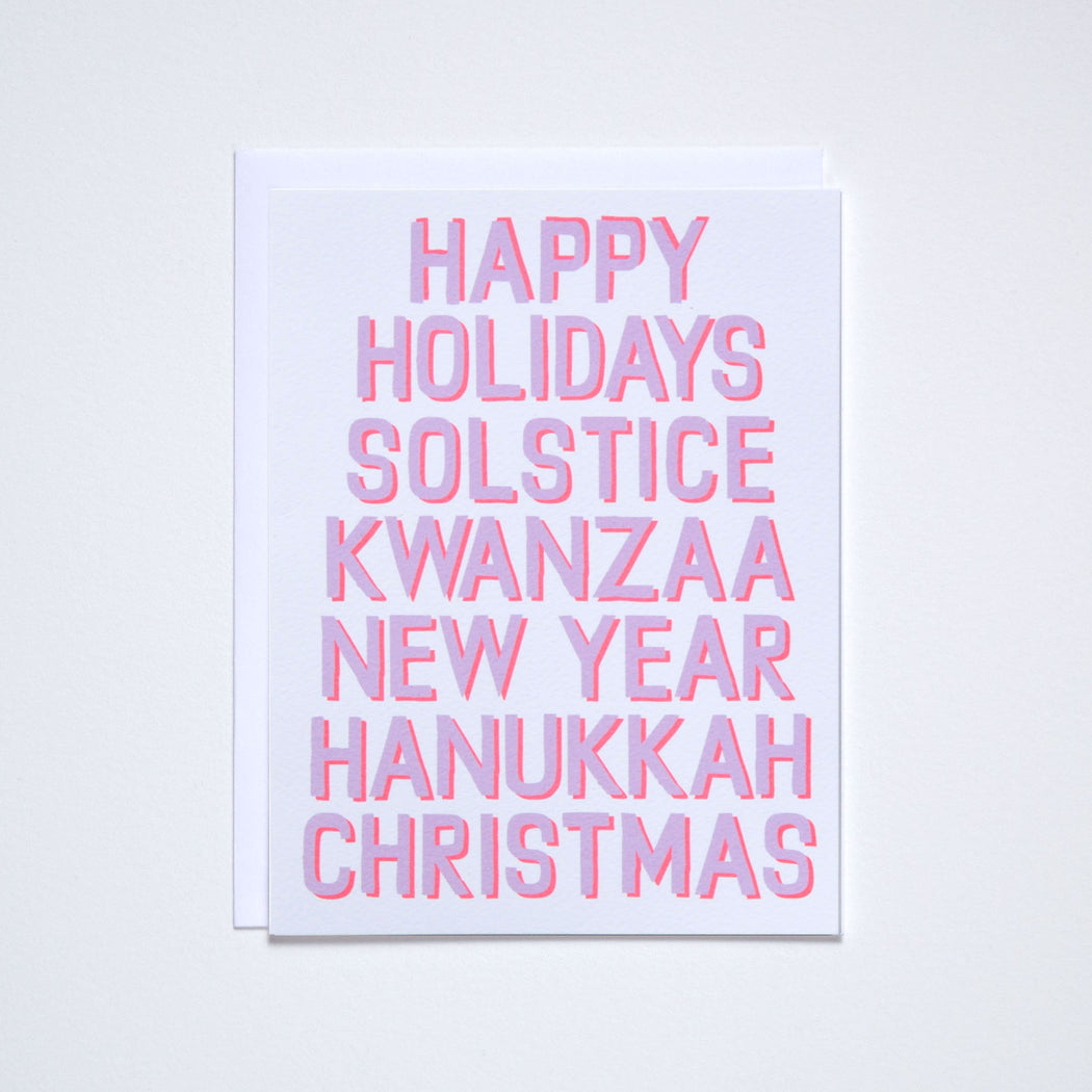Happy Everything Universal Holiday Note Card