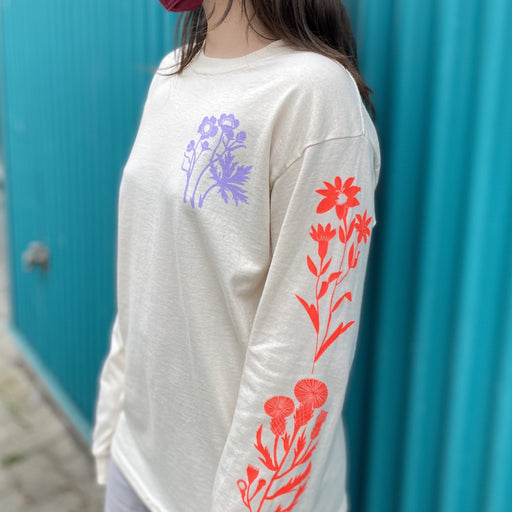 Wildflowers Long Sleeved Skate Shirt