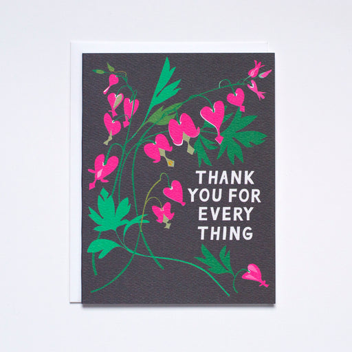Thank You Bleeding Heart Note Card