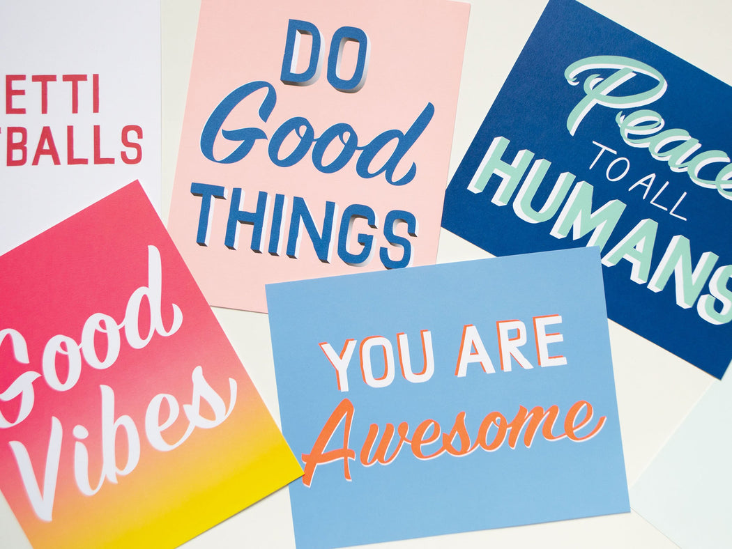 You Are Awesome Affirmation Print