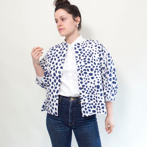 Antonia Blouse in Dots Dots Dots