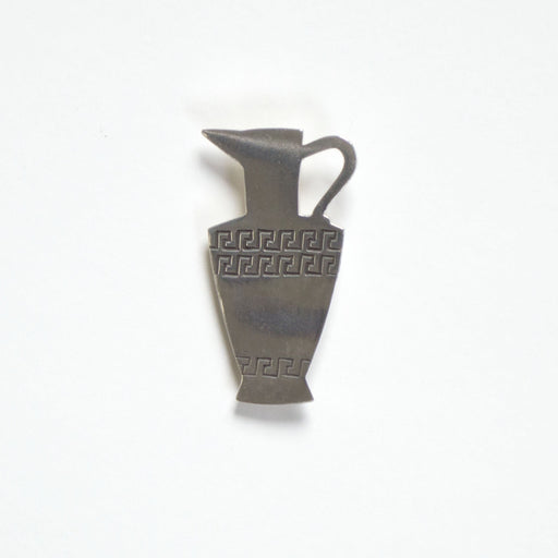 Grecian Pitcher Brooch in Sterling Silver