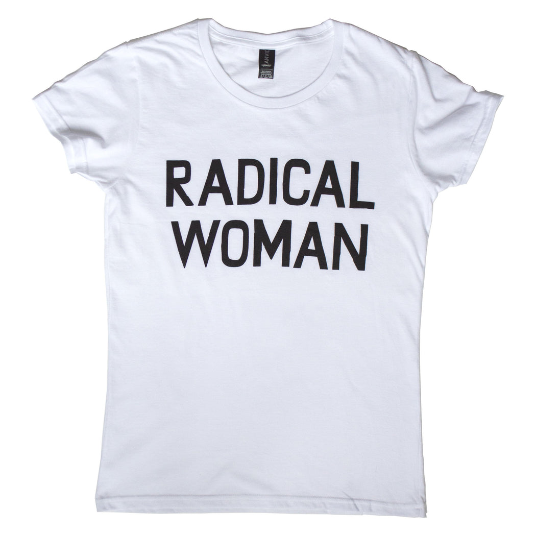 Radical Woman Text T-Shirt