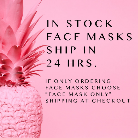 In Stock Face Masks