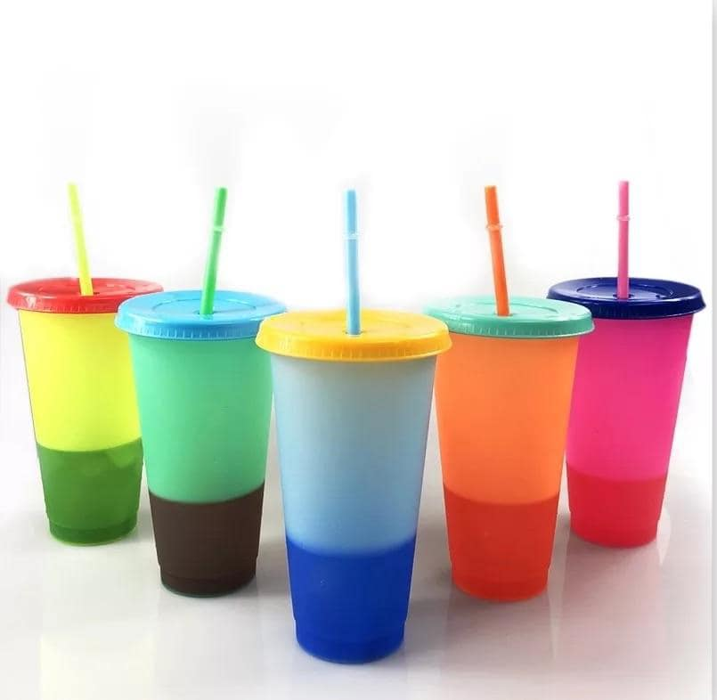 Color Changing Cups - Set of 5