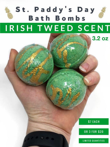 St. Paddy's Day Bath Bombs