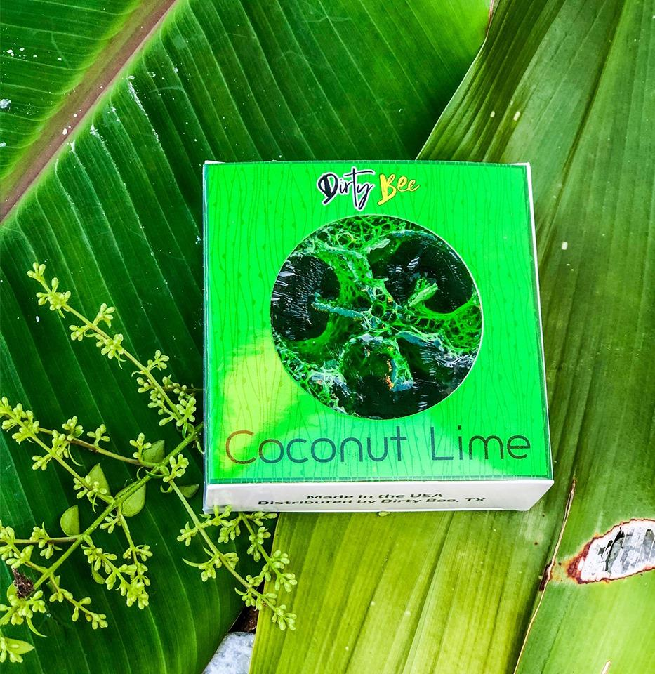 Coconut Lime Loofah Soap