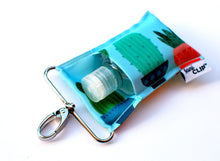 Load image into Gallery viewer, Aqua Cactus SaniClip™ Hand Sanitizer Holder