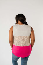 Load image into Gallery viewer, Hot Block Sleeveless Top