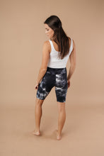 Load image into Gallery viewer, Biking In Style Black Biker Shorts