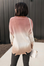 Load image into Gallery viewer, Color Melt Sweater in Mauve