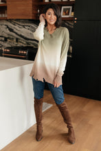 Load image into Gallery viewer, Color Melt Sweater in Olive