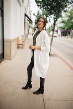 Load image into Gallery viewer, Cozy Chenille Cardi In Ivory