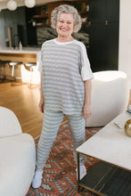 Load image into Gallery viewer, Cozy In Stripes Bottoms