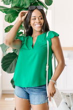 Load image into Gallery viewer, Fantastic Ruffle Sleeve in Kelly Green