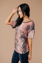 Load image into Gallery viewer, Forgotten Dreams Tie Dye Top In Mauve