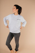 Load image into Gallery viewer, Good Vibes Heather Gray Sweatshirt