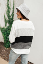 Load image into Gallery viewer, Heathered Heaven Striped Sweater In Winter Colors