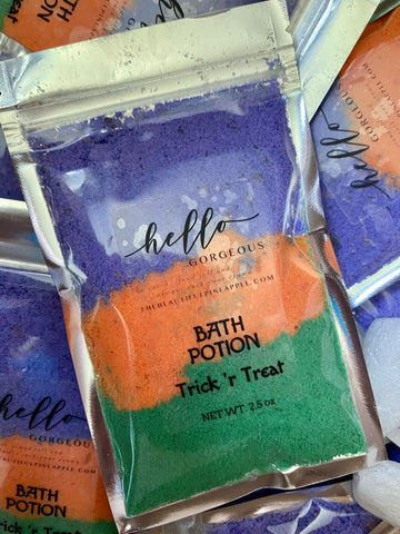 TRICK OR TREAT BATH POTION