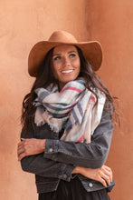 Load image into Gallery viewer, In The Pink Plaid Scarf