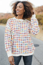Load image into Gallery viewer, Makin' Me Love You Multicolored Sweater