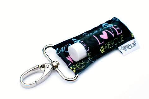 Peace Love Rescue Lip Balm Holder