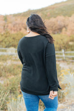Load image into Gallery viewer, Sadie's Simple Sweater in Black