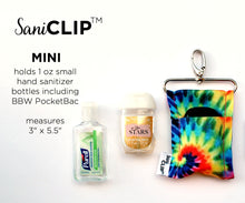Load image into Gallery viewer, Leopard SaniClip™ Hand Sanitizer Holder