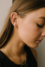 Load image into Gallery viewer, Subtle Holiday Feels Small Stud Earrings in Gold