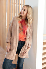 Load image into Gallery viewer, Sunday Morning Cardigan in Almond
