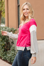 Load image into Gallery viewer, The Bridget Block Top in Rose