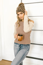 Load image into Gallery viewer, The Ellie Drop Shoulder Top in Taupe