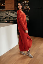 Load image into Gallery viewer, The Melanie Maxi Dress in Rust