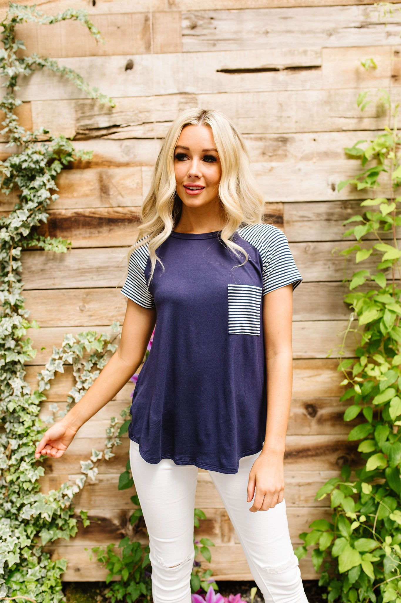 America's Favorite Raglan Top