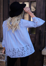 Load image into Gallery viewer, Blair Bell Sleeve Blouse