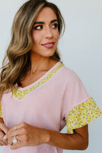 Load image into Gallery viewer, Briar Rose Waffle Knit Top
