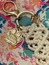 Load image into Gallery viewer, Macrame Keychain - Fur Mama