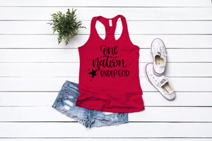 One Nation Under God Graphic Tank