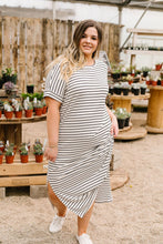 Load image into Gallery viewer, Ivory Stripes No Gripes Dress