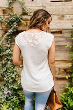 Load image into Gallery viewer, Lace & Grace Top In Off-White