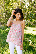 Load image into Gallery viewer, Mauve Floral Tank