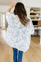 Load image into Gallery viewer, Mini Mosaic Kimono In White
