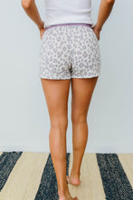 Load image into Gallery viewer, Purple Leopard Shorts