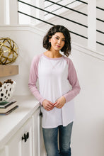 Load image into Gallery viewer, Team Spring Raglan Top In Lilac