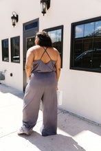 Load image into Gallery viewer, The Every Girl Jumpsuit In Charcoal